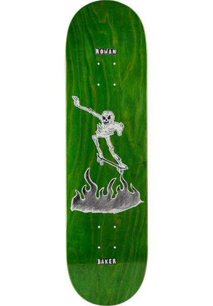 Baker Skateboard Decks Zorilla Cremation Mayhem green vorderansicht 0263409