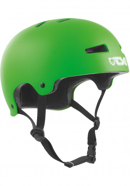 TSG Helme Evolution Solid Colors satin lime green Vorderansicht