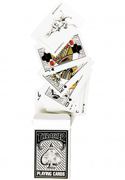 Thrasher Verschiedenes Playing-Cards no color Vorderansicht