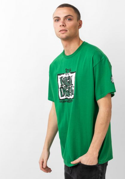 New-Deal T-Shirts 30th Anniversary Napkin green vorderansicht 0320823