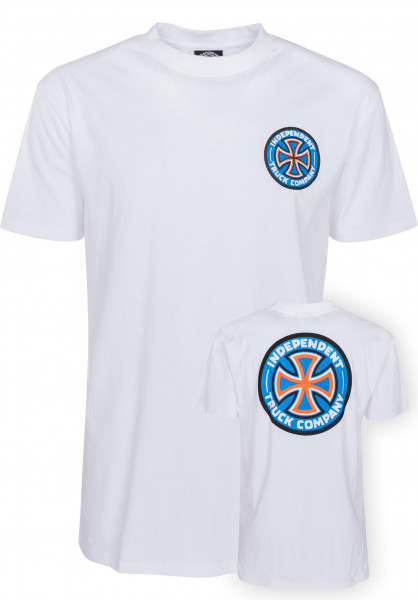Independent T-Shirts Colors white Vorderansicht