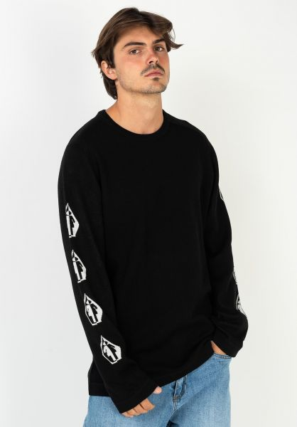 Volcom Sweatshirts und Pullover Volcom x Girl Sweater black vorderansicht 0423021