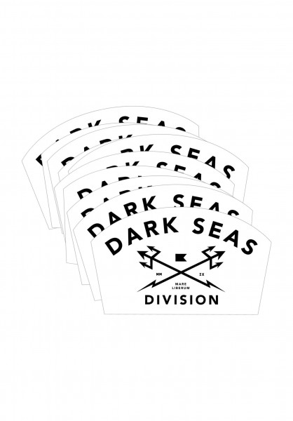 Dark Seas Verschiedenes Headmaster Sticker Small 25er white Vorderansicht