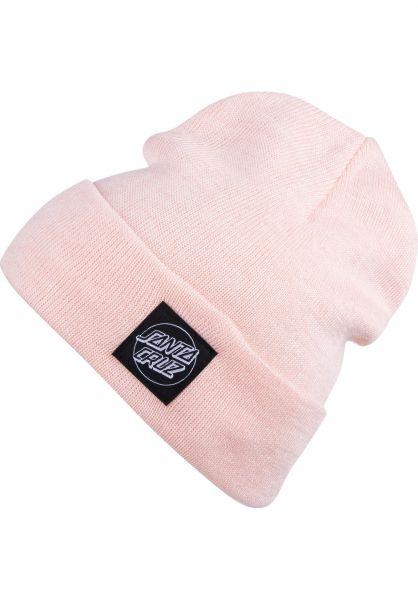 Outline Label Santa-Cruz Beanies in pinkmarl for Women  27b1a79dfb7