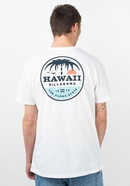 Billabong T-Shirts Dreamy Place white vorderansicht 0321588