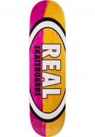 Real Skateboard Decks Parallel Fade Oval pink-yellow Vorderansicht