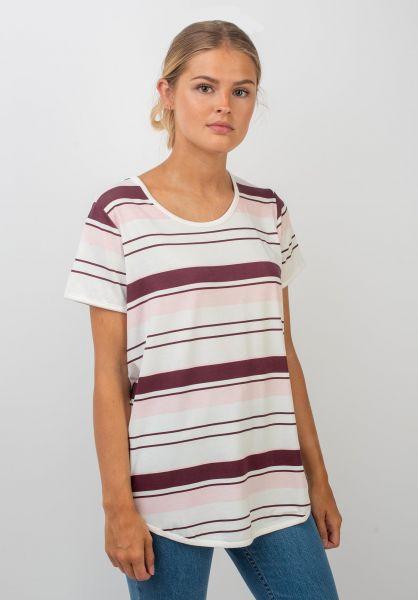 TITUS T-Shirts Seetje burgundy-rose vorderansicht 0397422