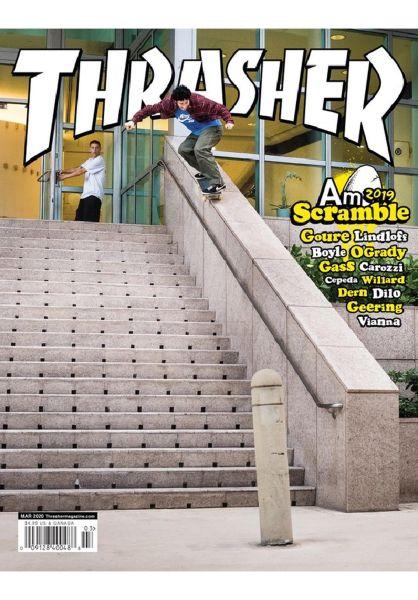 Thrasher Verschiedenes Magazine Issues 2020 March vorderansicht 0972485
