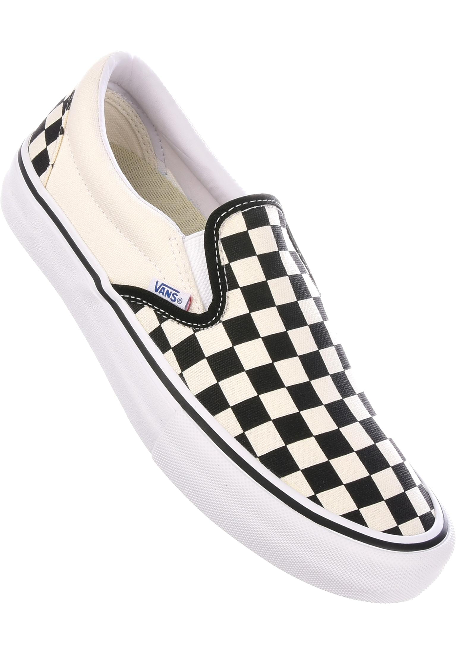 873e7d9f55c Slip-On Pro Vans All Shoes in white-black-checkerboard for Men