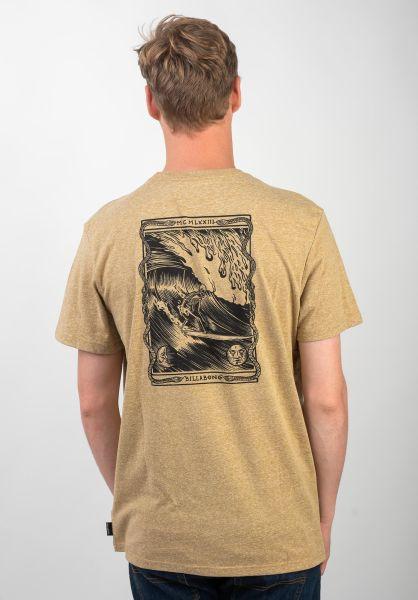 Billabong T-Shirts Sunset hash vorderansicht 0397645