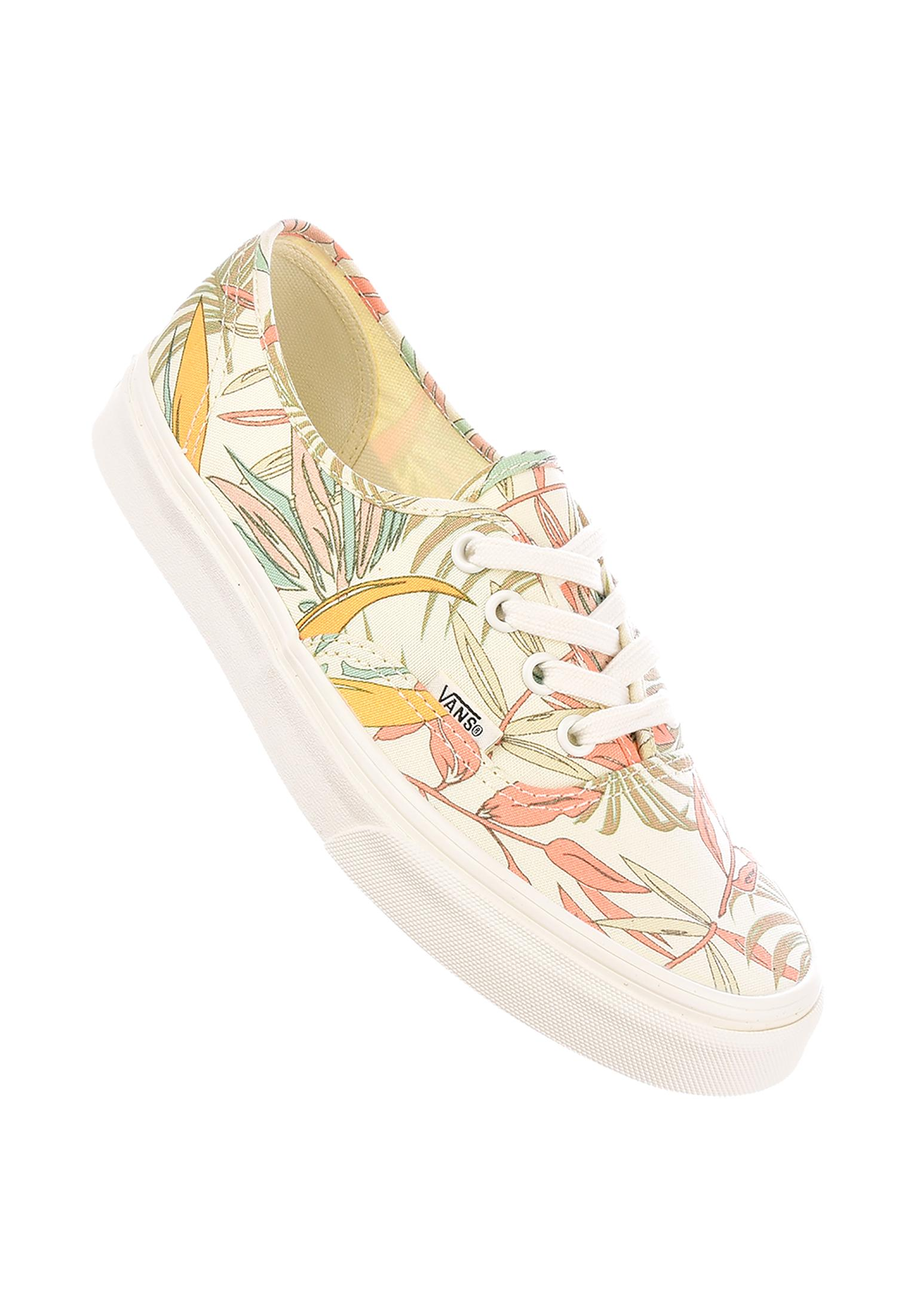 f07f6e044032e2 Authentic Classic Vans All Shoes in  californiafloral-marshmallow-marshmallow for Women