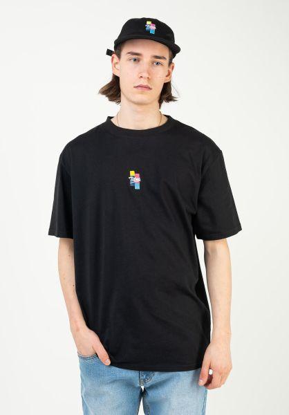 TITUS T-Shirts Ruslan black vorderansicht 0320927