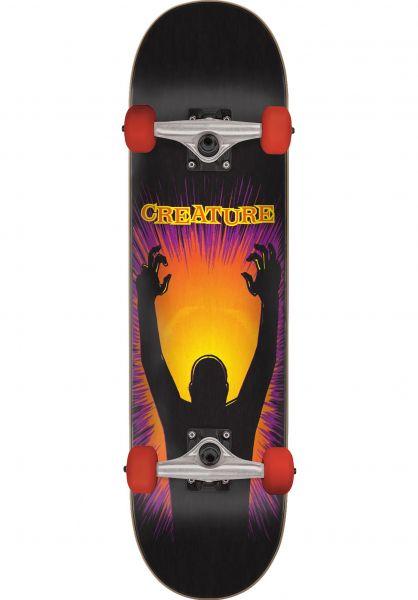 Creature Skateboard komplett The Thing Mini black vorderansicht 0161846