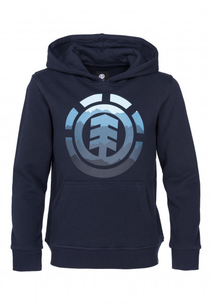 Element Hoodies Logo Fill Kids eclipsenavy Vorderansicht
