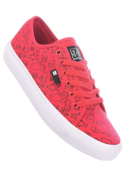 DC Shoes Alle Schuhe x Bobs Burgers Manual red vorderansicht 0604933
