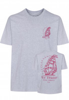 Key Street T-Shirts Ever Onward heathergrey Vorderansicht