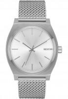 Nixon Uhren Time Teller Milanese all-silver Vorderansicht