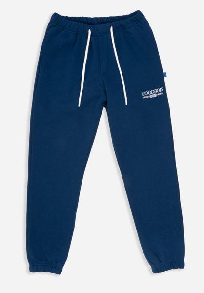 Goodbois Jogginghosen Trademark Sweat Pants navy vorderansicht 0680251