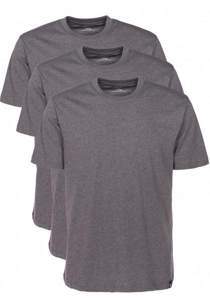 Dickies T-Shirts T-Shirt-Pack-(3 Stück) darkgreymelange Vorderansicht