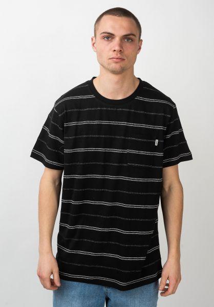Wemoto T-Shirts Fergus black vorderansicht 0399610