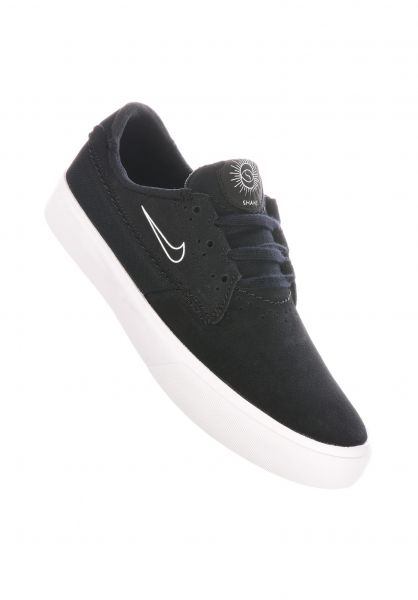 Nike SB Alle Schuhe Shane black-white-black vorderansicht 0612572
