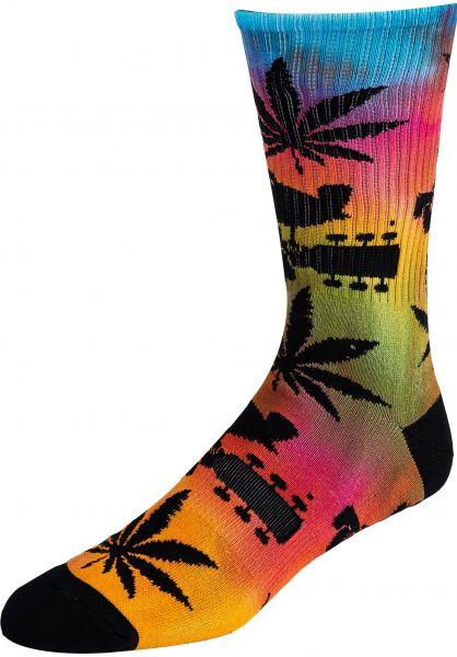 HUF Socken x Woodstock Plantlife multicolored vorderansicht 0631863