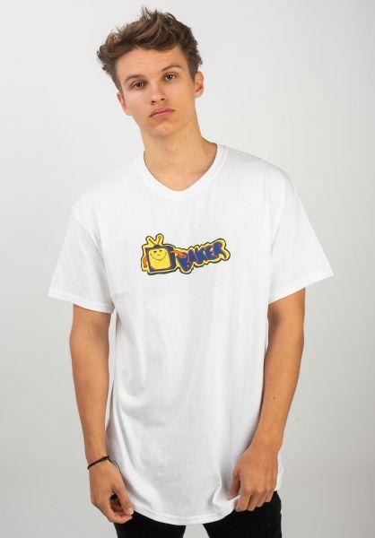 Baker T-Shirts TV white vorderansicht 0320544