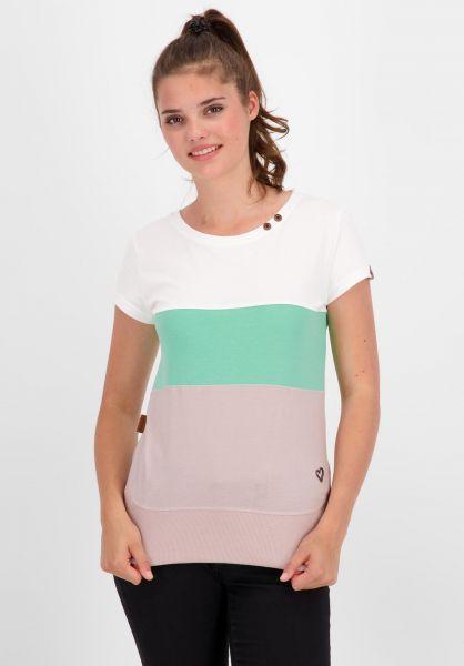 alife and kickin T-Shirts Clea lavender 121 vorderansicht 0399153