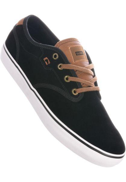 Globe Alle Schuhe Motley black-suede-toffee vorderansicht 0601384