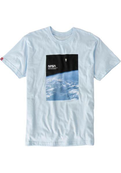 Habitat T-Shirts x NASA Soltitude blue vorderansicht 0320571