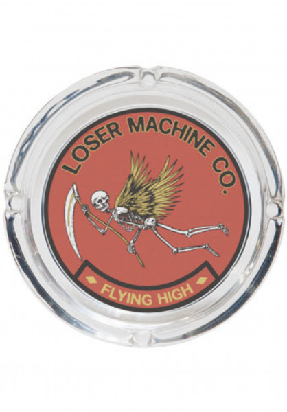 Loser-Machine Verschiedenes Flying High Ashtray clear Vorderansicht