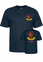 Powell-Peralta-T-Shirts-Cab-Dragon-II-navy-Vorderansicht