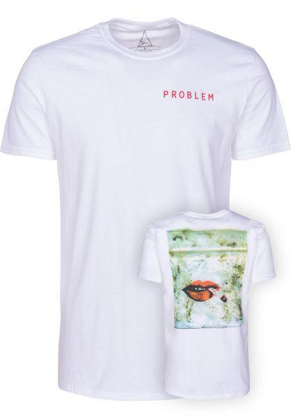 Problem Skate Inc T-Shirts Dope Baggie white vorderansicht 0399450