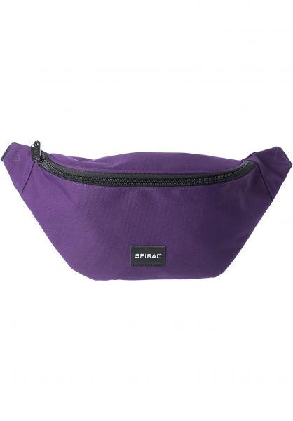 Spiral Hip-Bags Core Bum Bag purple Vorderansicht