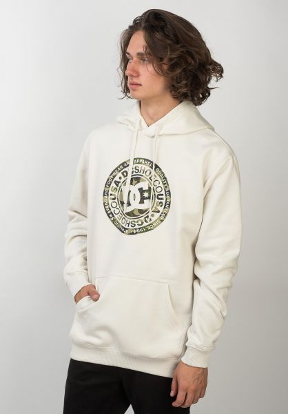 DC Shoes Hoodies Circle Star white-camo vorderansicht 0445222