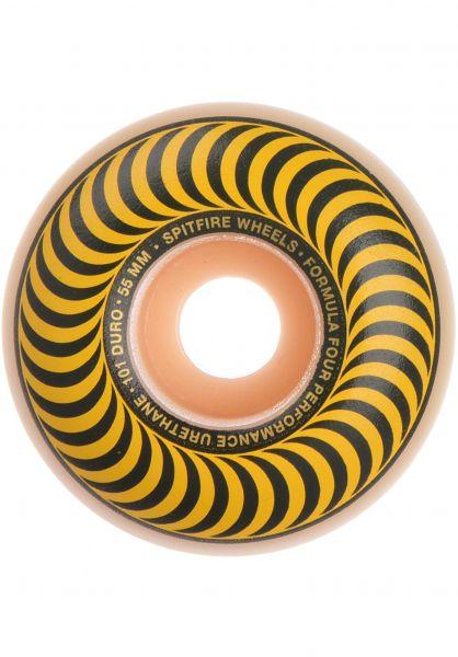 Spitfire Rollen Formula Four Classics 101A yellow vorderansicht 0134510