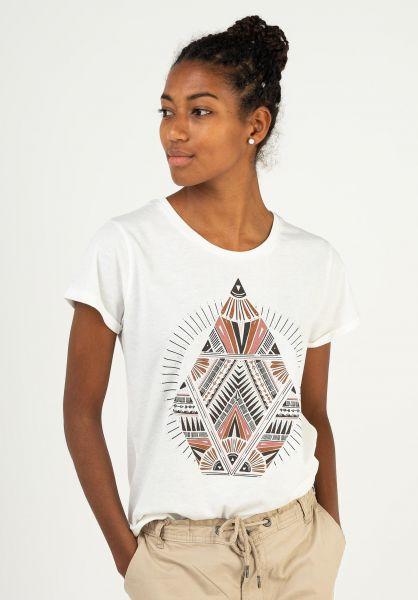 Volcom T-Shirts Radical Daze starwhite 321 vorderansicht 0399518
