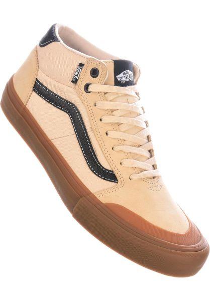 Vans Alle Schuhe Style 112 Mid Pro macadamia-gum vorderansicht 0604273