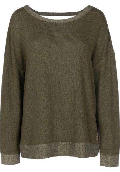 Billabong Sweatshirts und Pullover Let Go olive vorderansicht 0422514