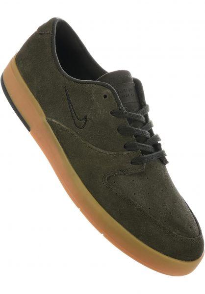Nike SB Alle Schuhe Zoom P-Rod X sequoia-black Vorderansicht