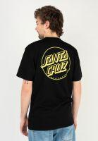 santa-cruz-t-shirts-opus-dot-stripe-black-yellow-vorderansicht-0323261