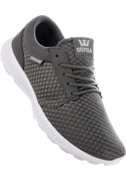 Supra Alle Schuhe Hammer Run grey-white vorderansicht 0603575