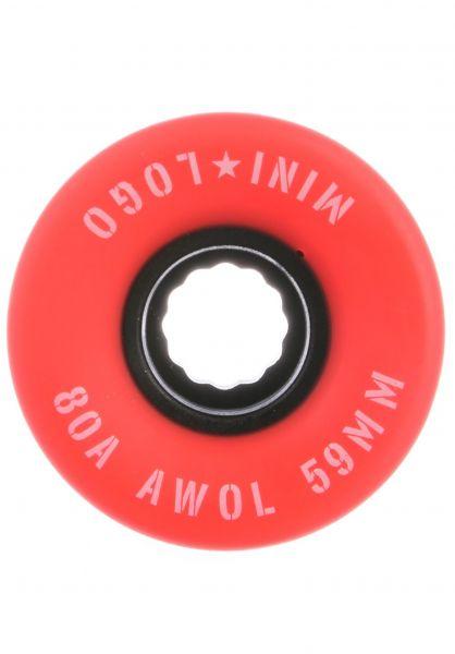 Mini-Logo Rollen A.W.O.L. A-Cut II 80A red vorderansicht 0134686