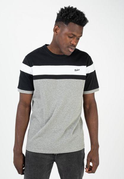 Rules T-Shirts Enno black vorderansicht 0320947