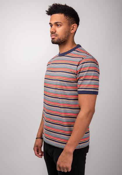 Dickies T-Shirts New Paltz navy vorderansicht 0399616