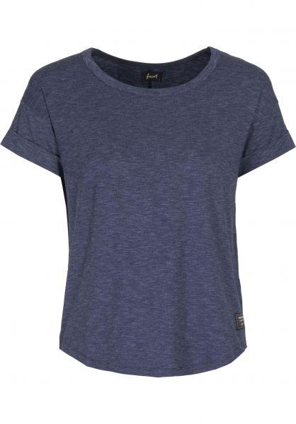 Forvert T-Shirts Padma navy Vorderansicht