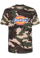 Dickies T-Shirts Horseshoe camouflage Vorderansicht