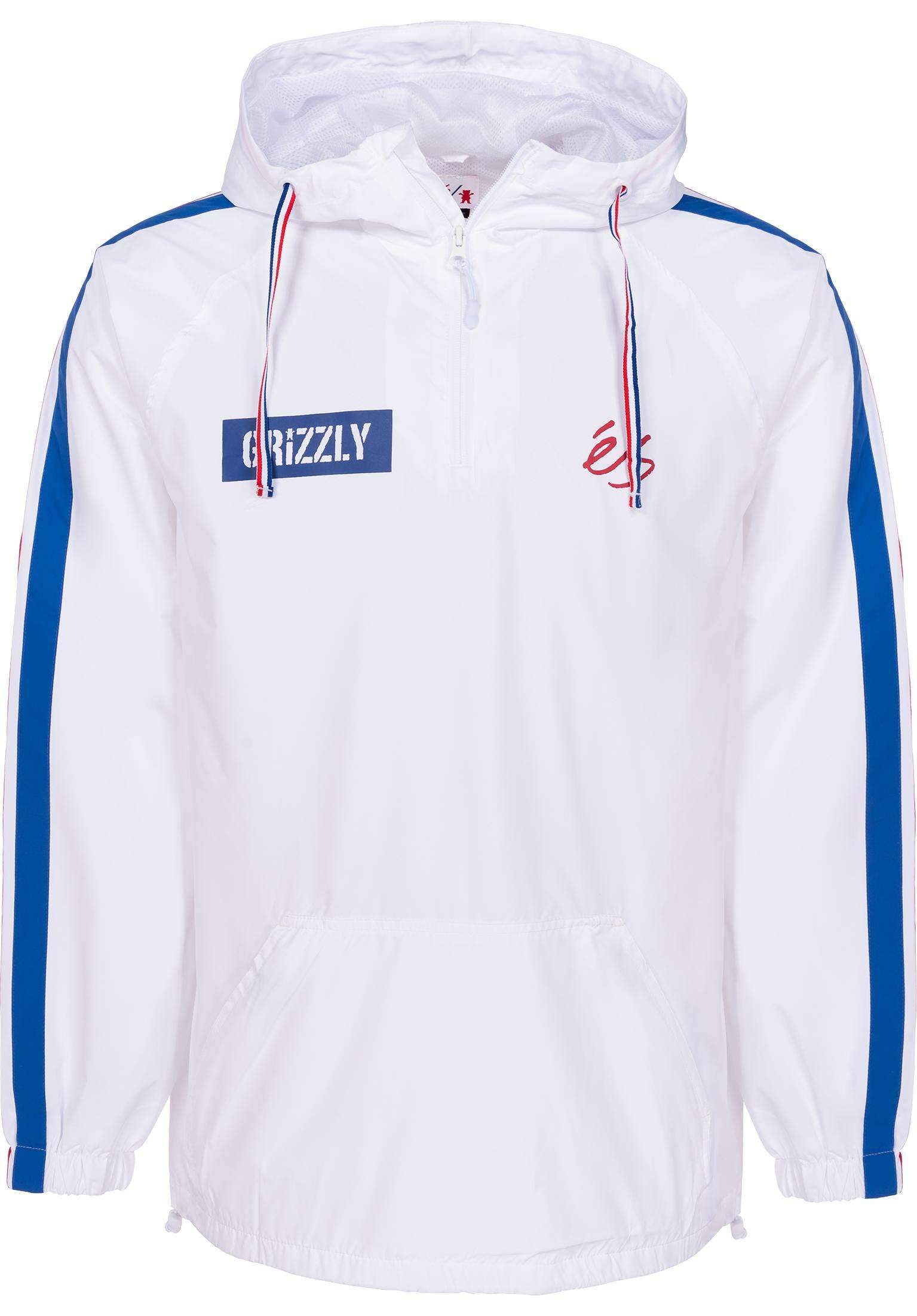 Match Anorak Es Grizzly Windbreaker X White Yw56EWq