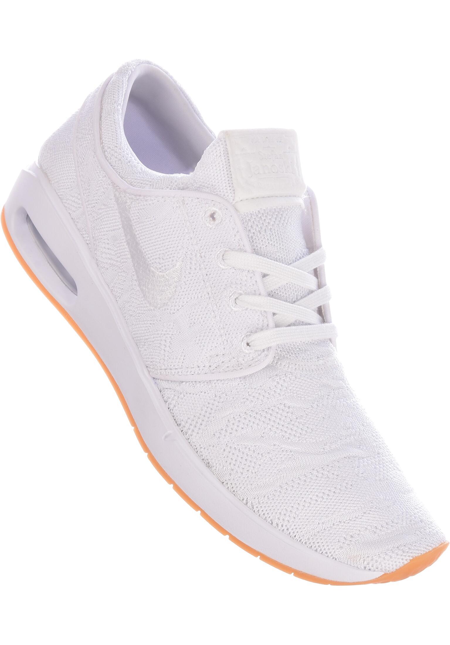 65c81619a3 Air Max Janoski 2 Nike SB All Shoes in white-white for Men   Titus