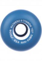 Powell-Peralta Rollen Mini Cubic 95A blue Vorderansicht